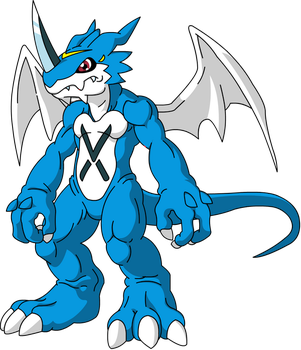 X-Veemon by mikael123