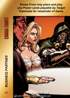 Emma Frost Special - Business Partner by overpower-3rd