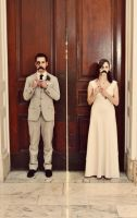 Wedding Day - Mustache by gattophotography