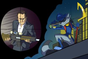 GTA V x Sly Cooper Crossover (3/4) by CobraClimax