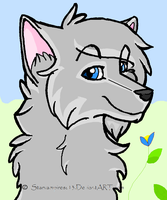 Spring wolf by ImGwen