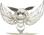 Moth chibi by ArtisticWarrior0