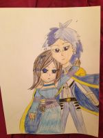 The Digimon Emperor and Empress by Camilia-Chan