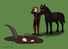 The tar pit is still here? by spaceskeleton