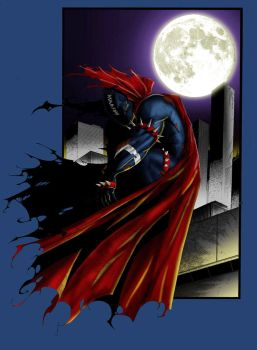 Spawn by the moonlight by Wyldekarde