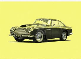 Aston Martin DB4 GT by przemus