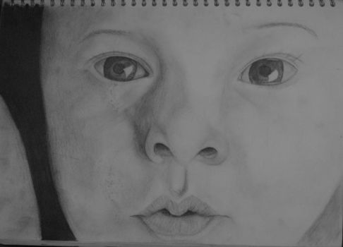 baby portrait by Catmae123