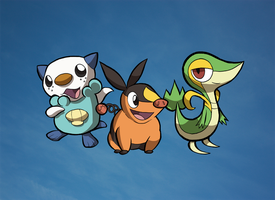BW Starters by WillDrawForFood1
