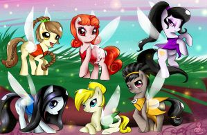 my little fairy pony FIM by Daughter-of-Fantasy