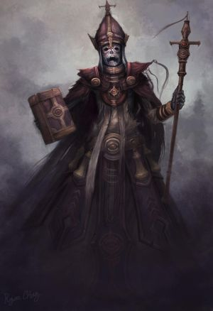 Undead Priest by Showmeyourmoves