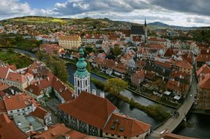 Sinuous Krumlov by AlexGutkin