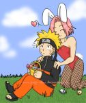 Naruto's Easter Bunny by Paige-chan