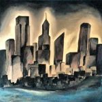 The Black City by MalloryPainter