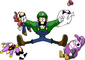 Year of the Luigi 2013 by madoldcrow1105