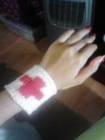 First Aid Wristband by ValentineRevenge
