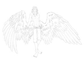 Jant Shira-- Uncolored by Wolfbird