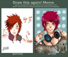 Draw this again! [MEME] by ArtistMinChen