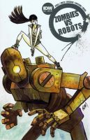 Zombies VS. Robots by ADAMshoots