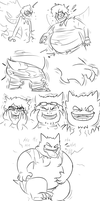 GENGAR 3 THE PUDGENING by Fighting-Wolf-Fist