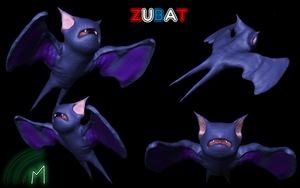 -A Wild Zubat Appeared- by ninjatogo