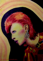 Ziggy Stardust by skylenblue