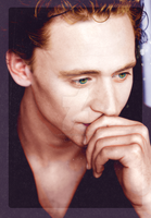 Tom Hiddleston by aerialspiders