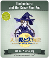 Wadanohara and the Great Blue Sea - RPG Icon by Darklephise