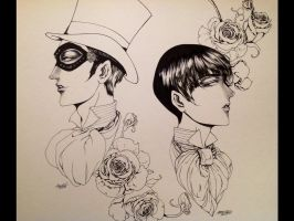 Gentlemen by Giname