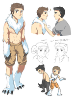 abominable snowman stiles by darndragon