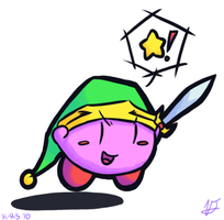 Sword Kirby by Aruesso