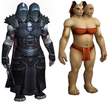 New Ogre Female Model for World of Warcraft by GL-of-Cybertron