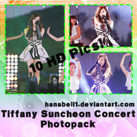Photopack#15 Tiffany Suncheon Concert by HanaBell1