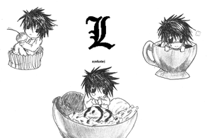 Deathnote-L's treats by aznkatoj
