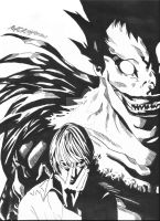 Death note by Dream-Catcher-88
