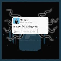 Slender Tweet by SimonDiff