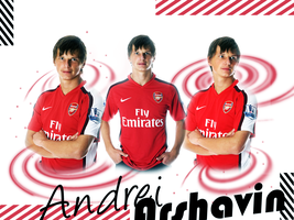 Arshavin in Arsenal by Rosiu46