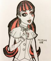 Draculaura by grenouille-rousse