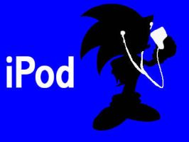 iPod-Sonic by EVOL-BUNNY