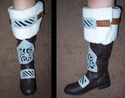 Steel Cuffed Boots by TartarusWolf