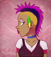 Mohawk gal by chachi411