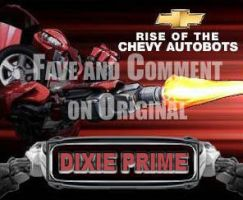 Dixie Prime ChevyBot by southe by fembotsunite