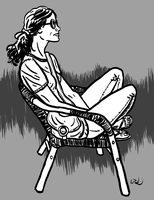 sitting by erspears