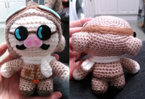 Studio Ghibli Inspired, Porco Rosso Amigurumi by Anaseed