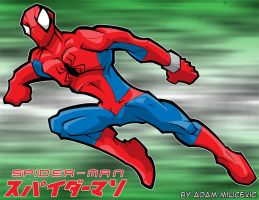 Japnese Spiderman II by ACivicDilemma