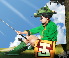 Gon Fishing -cosplay- by shazy