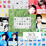 XCX / (Recently Used Emojis) [Pack #20] by OnlyWolfs