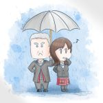 Whouffaldi - Singing In The Rain by MsRandom1401