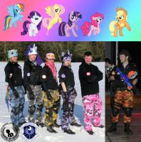 The Equestrian Task Force 3 by SquallWolfheart