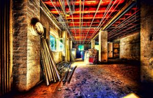 The Unfinished Factory by RiegersArtistry
