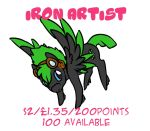 IronArtist_OPEN by LilLoate